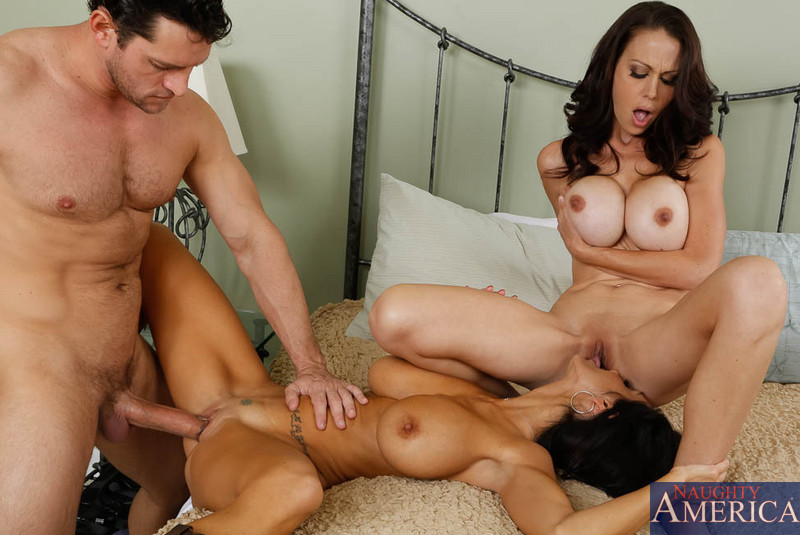 Milfs fuck sons friends